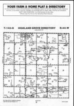 Map Image 058, Clay County 1990